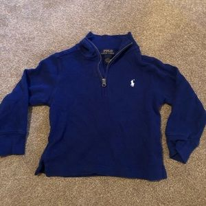 POLO Ralph Lauren half zip boys shirt